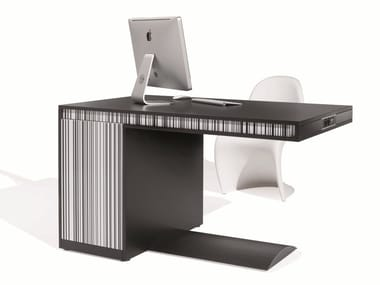 Workstation desk with cable management FRIDAY SHORT   Office desk