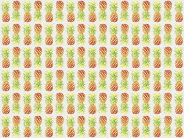 Wallpaper / floor wallpaper FRUITABLE ANANAS