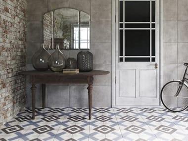 Pavimenti in gres effetto cementine: pavimenti in gres porcellanato