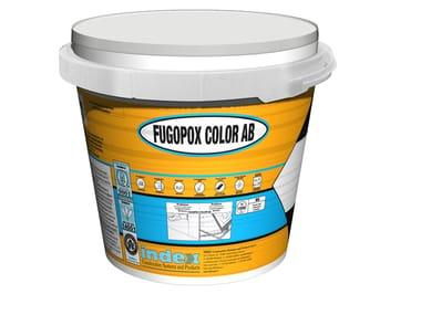 Stucco epossidico ceramizzato ad elevata pulibilità FUGOPOX COLOR AB