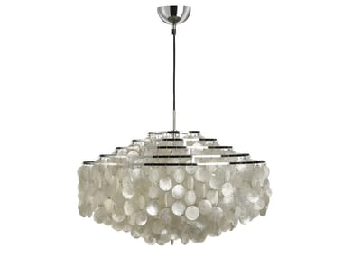 Mother of pearl pendant lamp FUN 11DM