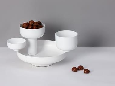 Porcelain centerpiece FUNGI | Centerpiece