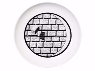 Ceramic dinner plate FUTURE