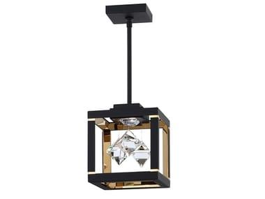 Lampada a sospensione a LED con cristalli Swarovski® FYRA   Lampada a sospensione