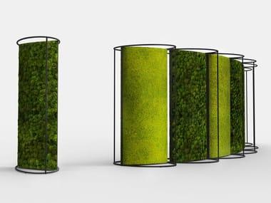 Stabilized plants vertical garden G-DIVIDER