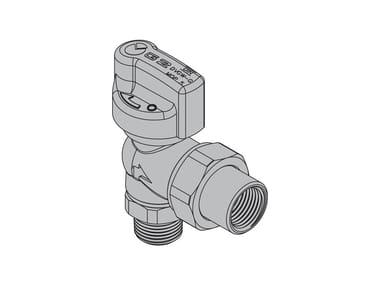 Valves for gas appliances G2 90° valve threaded/ threaded fitting