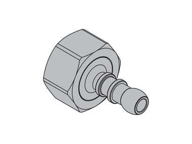 Pipe for domestic gas network G2 Hose connection fitting