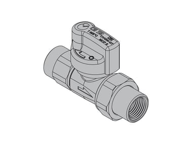 Valves for gas appliances G2 Straight valve with FIREBAG® threaded