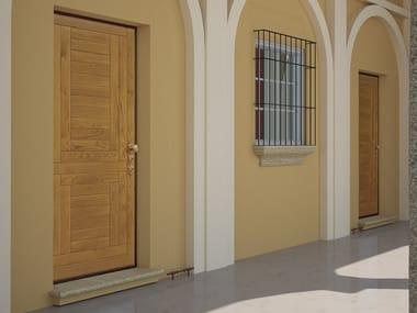 Exterior safety door G4   Entry door
