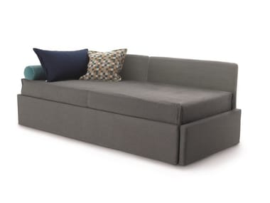 2 seater fabric sofa bed with removable cover GABRIEL DUO ISOLETTO