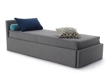 Upholstered fabric day bed with removable cover GABRIEL DUO ISOLINO