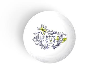 Porcelain dinner plate for children GABRIELLE | Plate