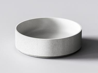 3D printed quartz sand washbasin GAIA