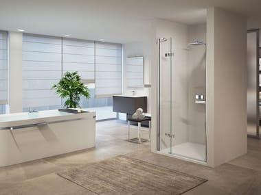Box doccia a nicchia modulare con porta a battente GALA | 1B
