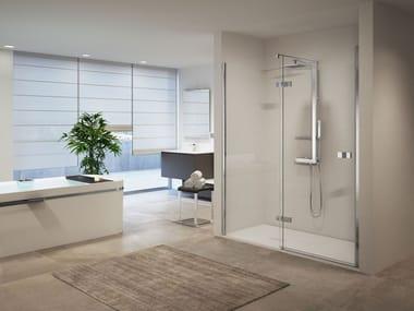 Box doccia a nicchia con porta a battente GALA | 2P