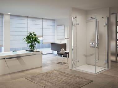 Box doccia modulare con porta a battente GALA | A
