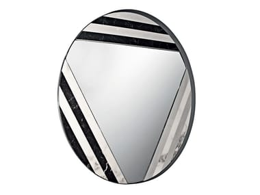 Wall-mounted marble mirror GALDOR