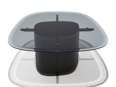 Crystal coffee table GALET | Crystal coffee table