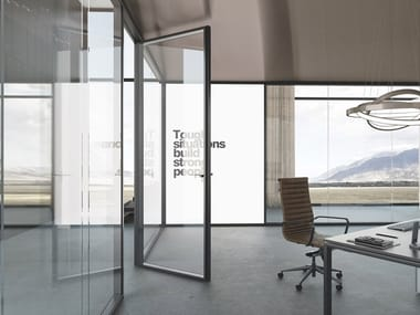 Glass office partition GALILEO