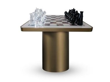 Tavolino quadrato da gioco TAU | Tavolino da gioco