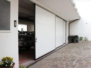 Sliding side garage door IBIS   Garage door