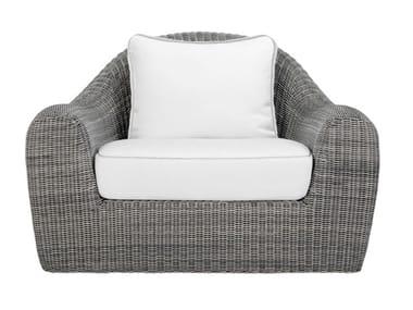 JanusFiber® garden armchair with armrests RUSH | Garden armchair