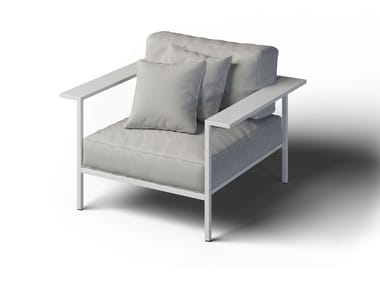 Garden armchair with armrests COSI | Garden armchair