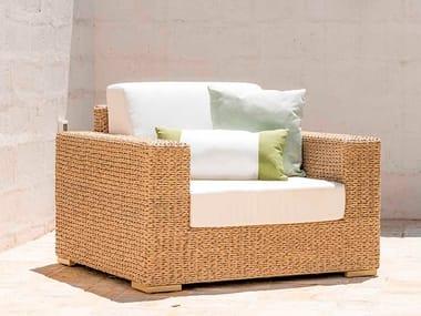 Garden armchair with armrests BERENICE | Garden armchair with armrests