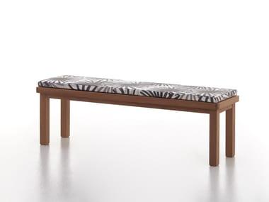 Iroko garden bench CAPRI | Garden bench
