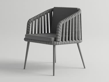Garden chair with armrests LITUS | Garden chair