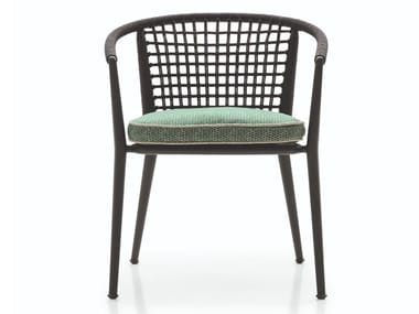 Stackable garden chair with armrests ERICA '19 | Garden chair