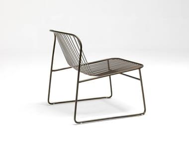 Garden steel easy chair RIVIERA