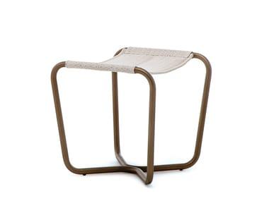 Fabric garden footstool SLING | Garden footstool