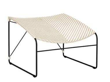 Rattan footstool WHISKEY | Footstool