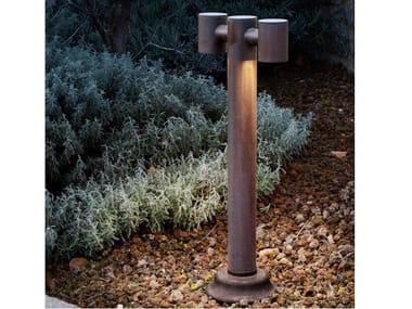 Paletto luminoso a LED in metallo ABARTH | Paletto luminoso