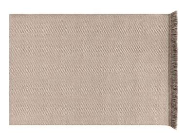 Tappeto a tinta unita rettangolare in polipropilene per esterni GARDEN LAYERS TERRACOTTA | Tappeto rettangolare