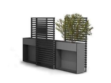 Schermi divisori da giardino in derivati del legno for Divisori da esterno
