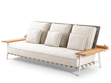 Fabric garden sofa 239 FENC-E NATURE | Garden sofa