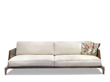 3 seater fabric garden sofa BOULEVARD   Garden sofa
