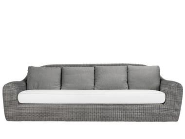 3 seater JanusFiber® garden sofa RUSH | Garden sofa