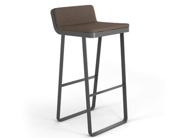 High aluminium garden stool MAKEMAKE | Garden stool