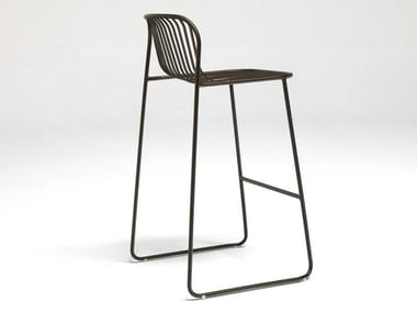 High steel stool RIVIERA | Stool