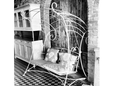 2 Seater Wrought Iron Garden Swing Seat Garden Swing Seat 4