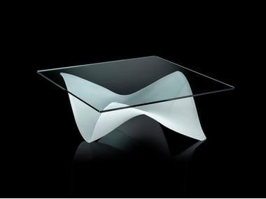 Tavolino quadrato in vetro GAUDÌ | Tavolino