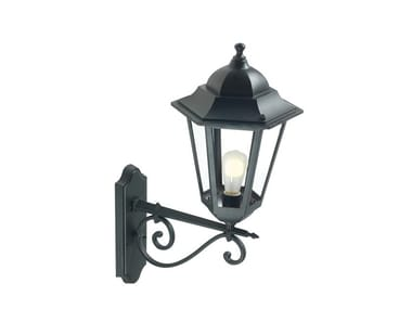 Die cast aluminium outdoor wall lamp GEKO 583
