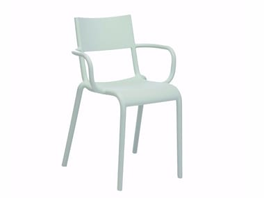 Chair with armrests KARTELL - GENERIC A Sage