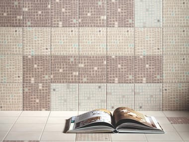 Glazed stoneware wall/floor tiles GENESI DECORS MIX