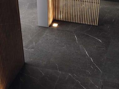 Pavimento/rivestimento in gres porcellanato effetto marmo GENUS GOLD N