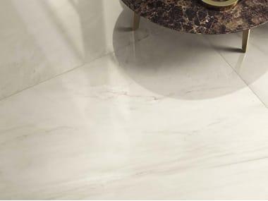 Pavimento/rivestimento in gres porcellanato effetto marmo GENUS GOLD W