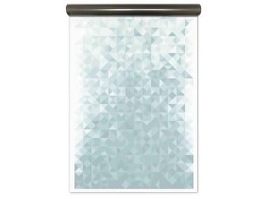 Motif magnetic wallpaper GEO BLUE | Magnetic wallpaper
